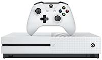 Игровая приставка Microsoft Xbox One S 1ТБ + игровой абонемент + XboxLive на 3мес (234-00357) -