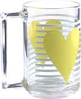 Кружка Luminarc Mon coeur jaune N5032 -