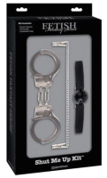 БДСМ-набор Pipedream FF Limited Edition Shut Me Up Kit Black / PD2026-23 -