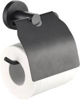 Держатель для туалетной бумаги Raindrops Black 20586 -