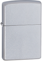 Зажигалка Zippo Classic Satin Chrome / 205 (матовый серебристый) -