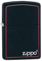 Зажигалка Zippo Classic Black Matte / 218ZB (матовый черный) -