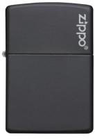 Зажигалка Zippo Classic Black Matte / 218ZL (матовый черный) -