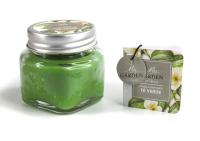 Свеча Ad Trend Зеленый чай в баночке / 40475i4 (5.5х5.5см ) -