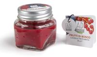 Свеча Ad Trend Лесные ягоды в баночке / 40475i10 (5.5х5.5см ) -
