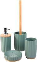 Набор аксессуаров для ванной и туалета АкваЛиния Бамбук B1243W/1 -