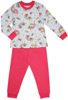 Пижама детская Купалинка 819700 (р.110,116-56, к.набивка спящий гномик/розовый) -