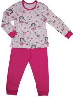 Пижама детская Купалинка 819701 (р.110,116-56, к.набивка принцесса/малина) -