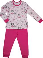 Пижама детская Купалинка 819701 (р.74,80-48, к.набивка принцесса/малина) -