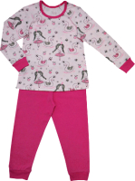 Пижама детская Купалинка 819701 (р.86,92-52, к.набивка принцесса/малина) -