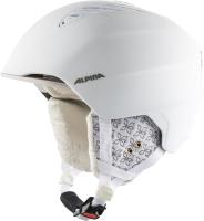 Шлем горнолыжный Alpina Sports 2021-22 Grand / A9226-12 (р-р 57-61, белый/Prosecco Matt) -