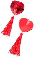 Набор пэстисов Erolanta Cora / 790013 (красный) -