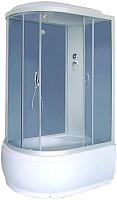 Душевая кабина Fiinn 410 R 120x80 (белый/тонированное стекло) -
