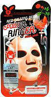 Маска для лица тканевая Elizavecca Red Ginseng Deep Power Ringer Mask Pack (23мл) -