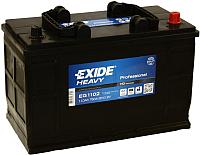 Автомобильный аккумулятор Exide Professional EG1102 (110 А/ч) -