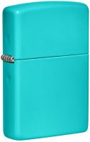 Зажигалка Zippo Classic / 49454 (бирюзовый) -