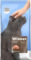 Корм для кошек Winner Мираторг Для кошек домашнего содержания из курицы /1010014337 (10кг) -