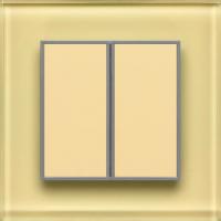 Умный выключатель DeLUMO Orto 1014 двухканальный клавишный (классический бежевый) -