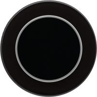 Умный выключатель DeLUMO Ronda 9005 одноканальный клавишный (классический черный) -