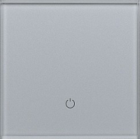 Умный выключатель DeLUMO Senso 9006 одноканальный сенсорный (серый металлик) -