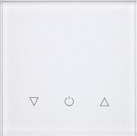 Умный выключатель DeLUMO Senso 9003 одноканальный сенсорный трехклавишный (натуральный белый) -