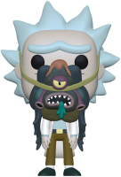 Фигурка Funko POP! Animation Rick & Morty Rick w/ Glorzo 55250 / Fun25491082 -