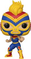 Фигурка Funko POP! Bobble Marvel Luchadores Captain Marvel 53872 / Fun25491716 -