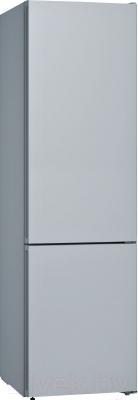 Холодильник с морозильником Bosch KGN39IJ31R (жемчужно-золотой) - холодильник без панели