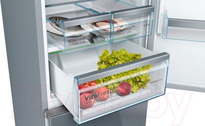 Холодильник с морозильником Bosch KGN39IJ31R (жемчужно-золотой)