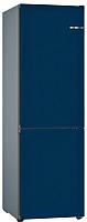 Холодильник с морозильником Bosch KGN39IJ31R (ночной синий) -