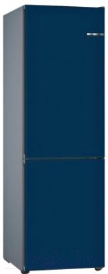 Холодильник с морозильником Bosch KGN39IJ31R (ночной синий)