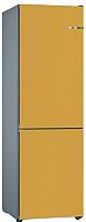 Холодильник с морозильником Bosch KGN39IJ31R (жемчужно-золотой) -