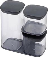 Набор емкостей для хранения Joseph Joseph Podium 81072 (серый) -