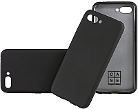 Чехол-накладка Case Deep Matte v2 для Honor 10 (черный) -