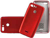 Чехол-накладка Case Deep Matte для Redmi 6 (красный) -