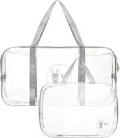 Комплект сумок в роддом Roxy-Kids RKB-005 (2шт, серый) -