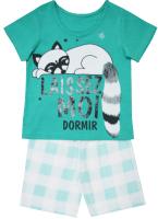 Пижама детская Купалинка 719711 (р.86,92-52, к.бирюза/клетка) -