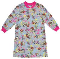 Сорочка детская Купалинка 4915ЕW (р.110,116-56, набивка/фуксия) -