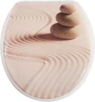 Сиденье для унитаза АкваЛиния RY3056 (песок) -