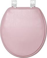 Сиденье для унитаза АкваЛиния 1-002 (розовый) -