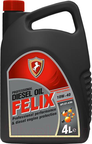 Купить Моторное масло FELIX, CF-4/SG Diesel 10W40 / 430900005 (4л), Россия