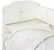 Комплект в кроватку Perina Le Petit Bebe / ПБ6-01.1 (молочный/оливковый) -