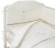 Комплект постельный в кроватку Perina Le Petit Bebe / ПБ4-01.5 (молочный/кофейный) -