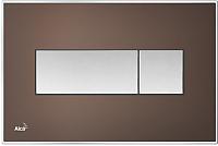 Кнопка для инсталляции Alcaplast M1373 (коричневый) -