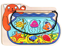 Развивающая игрушка Мастер игрушек Кот-рыбак / IG0175 -