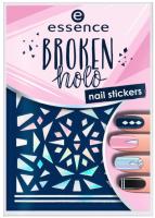 Наклейки для ногтей Essence Broken Holo Nail Stickers 12 (67шт) -