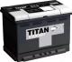 Автомобильный аккумулятор TITAN Standart 62 R (62 А/ч) -