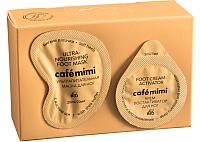 Маска для ног Le Cafe de Beaute Mimi мягкие пяточки (15мл+5мл) -