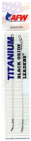 Поводок рыболовный AFW Titanium / AFW1825TI (1шт) -