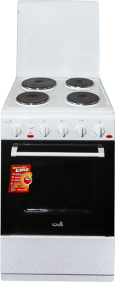 Плита электрическая Cezaris ЭП НД 1000-01 (белый)